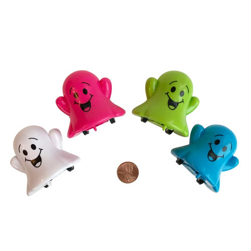 Plastic Ghost Pullbacks Small Toy