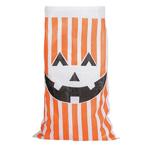 Potato Sack for Fall - Pumpkin Face