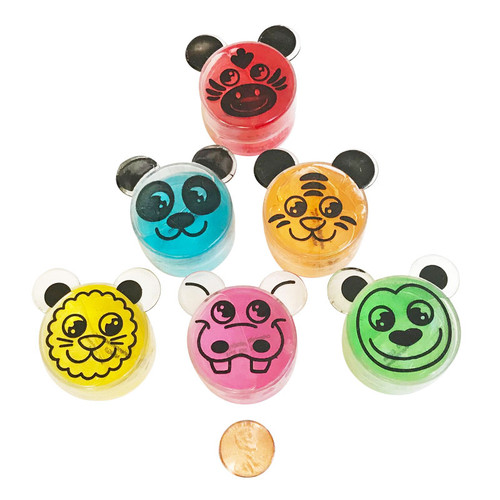 Zoo Animal Slime - Small Toy or Carnival Prize
