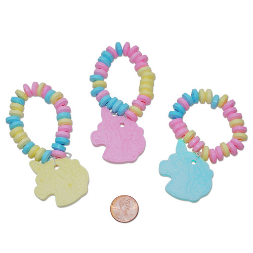 Unicorn Shaped Candy Bracelets
