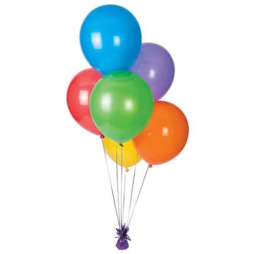 Assorted bulk balloons - 11 inch