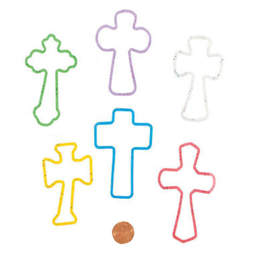 Cross Christian Fun Bands Bracelets