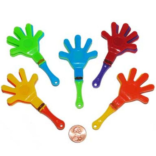 Mini Hand Clappers (96 total hand clappers in 2 bags) 12¢ each