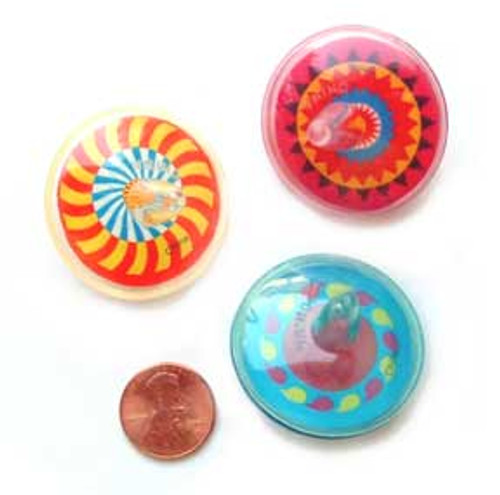 Plastic Spin Tops Inexpensive Small Toy