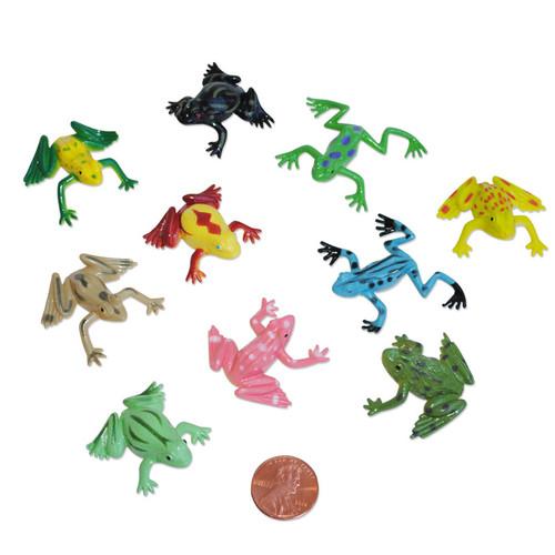 Mini Vinyl Frog Small Toy Wholesale