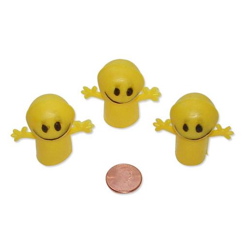 Smile Face Finger Puppets