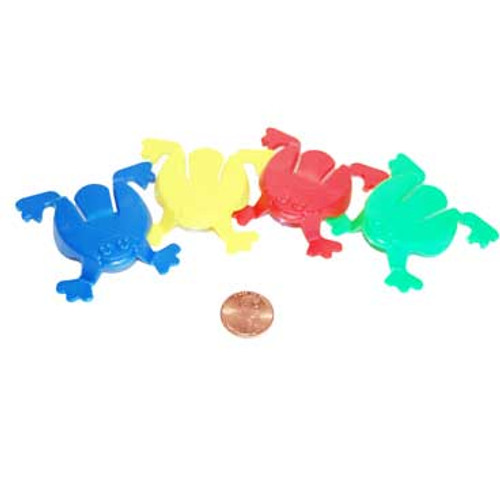 Plastic Jumping Frog Toys