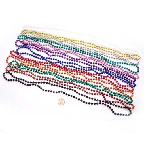 Metallic Bead Necklace Assortment Wholesale