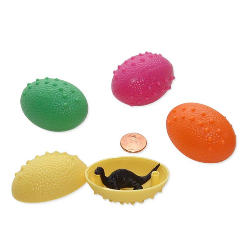 Mini Dinosaur Eggs with Dinosaur toy
