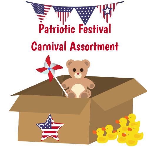 Patriotic Festival Carnival Assortment - Custom