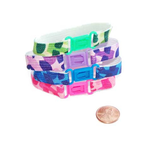 Nylon Camouflage Friendship Bracelets (12/package) 29¢ each