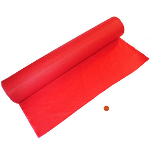 Red Tablecloth Roll 100 feet long
