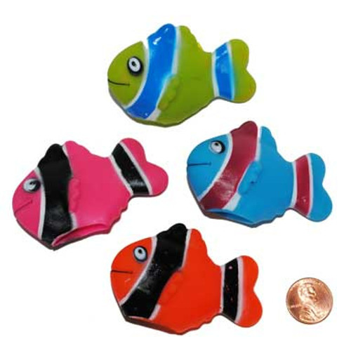 Mini Fish Finger Puppets (24 total finger puppets in 2 bags) 40¢ each
