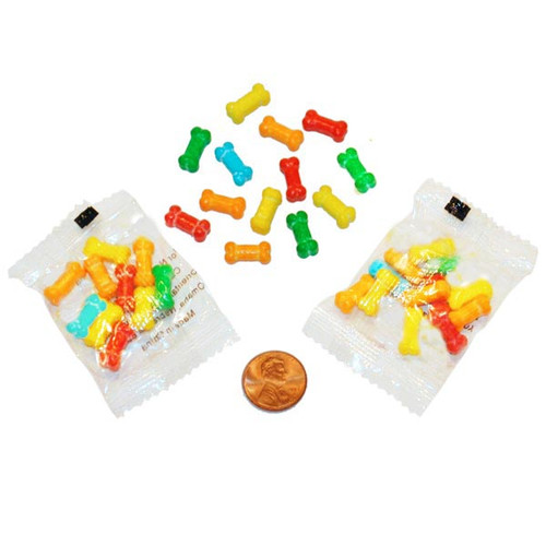 Bone Shaped Candy Packets Wholesale