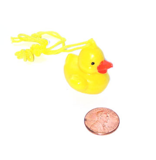 Plastic Duck Necklace (24 total necklaces in 2 bags) 30¢ each