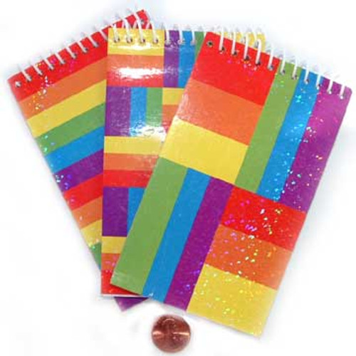 Mini Rainbow Notepads (24 total notepads in 2 bags) 46¢ each