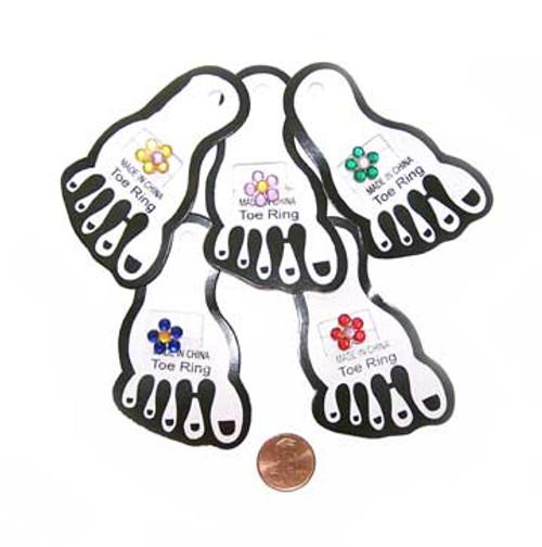 Flower Toe Ring (12/package) 33¢ each