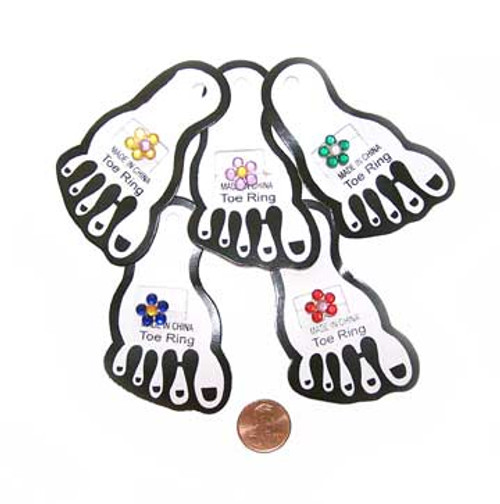 Flower Toe Ring (12/package) 33¢ each