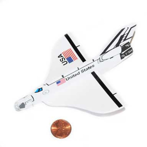 Space Shuttle Glider (24 total shuttle gliders in 2 bags)  41¢ each