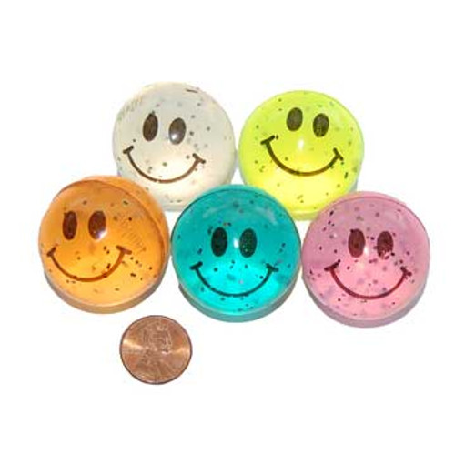 High Bounce Smile Ball (12/package) 50¢ each
