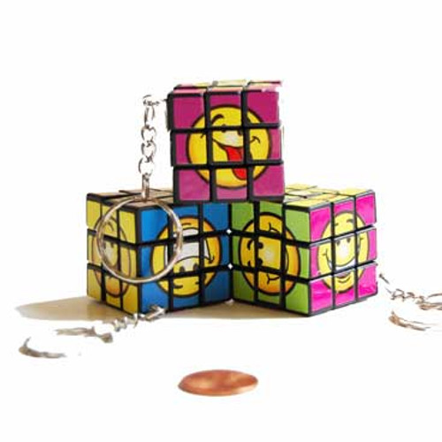 Smile Face Mini Cube Game (24 total cubes in 2 bags) 50¢ each