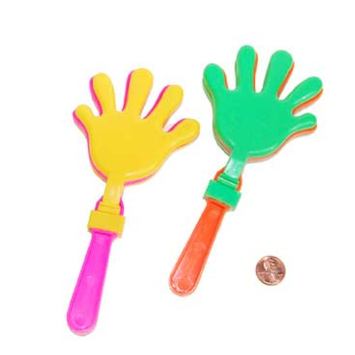 Neon Hand Clappers (24 total hand clappers in 2 bags) 46¢ each