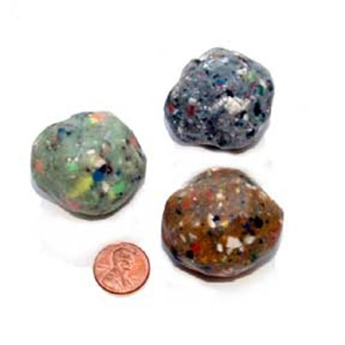 Rock Bouncing Balls (24 total bouncing balls in 2 bags) 43¢ each