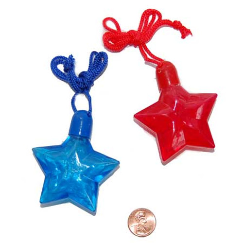 Star Bubble Necklaces (24 total necklaces in 2 boxes) 50¢ each