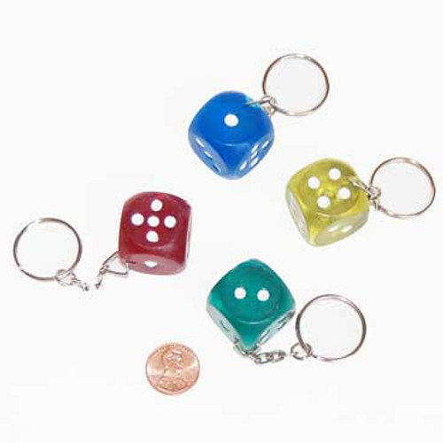 Dice Key Chain (12/package) 69¢ each