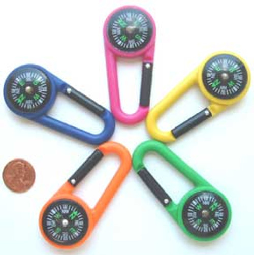 Plastic Compass Clips (24 total compass clips in 2 bags) 61¢ each