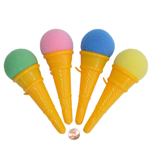 Ice Cream Cone Shooter Kids Novelty Toy
