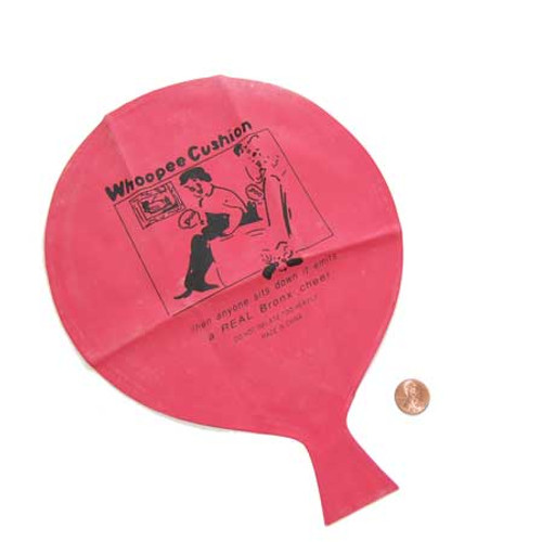 Whoopee Cushions (24 total whoopee cushions in 2 bags) 74¢ each