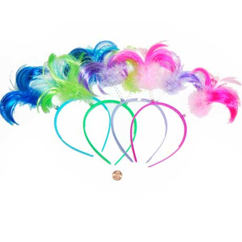 Neon Ponytail Head Boppers (24 total boppers in 2 bags) 80¢ each