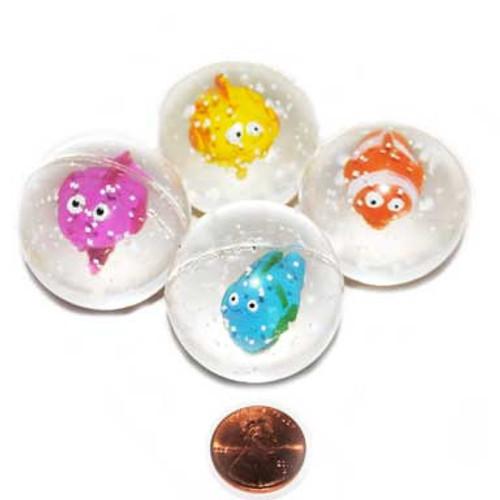 Tropical Fish Bouncing Balls (24 total balls in 2 bags) 80¢ each