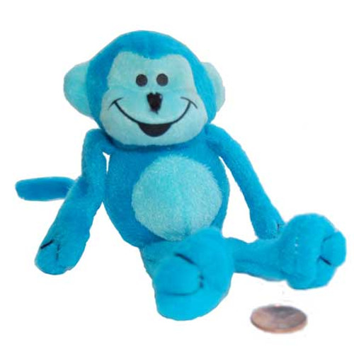 Stuffed Neon Monkey (24 total monkeys in 2 bags) $1.27 each