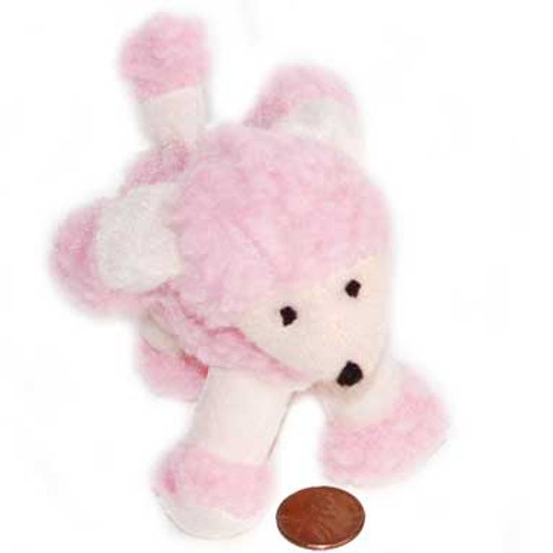Mini Stuffed Pink Poodle (24 total pieces in 2 bags) $1.46 each