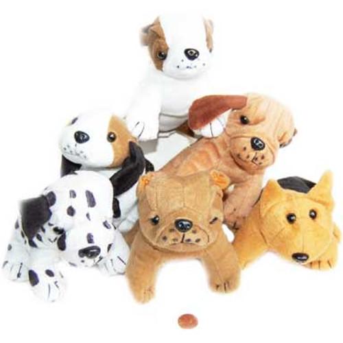Mini Stuffed Dogs (24 total stuffed dogs in 2 bags) $1.66 each