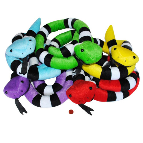 Stuffed Snakes (24 total snakes in 2 bags) $1.69 each