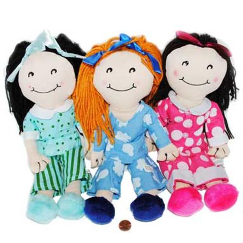 Sleepover Stuffed Doll (8 dolls in 2 bags) $4.74 each