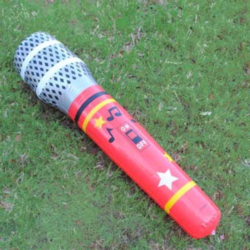 Jumbo Inflatable Microphone (12 total microphones in 2 bags) $2.23 each
