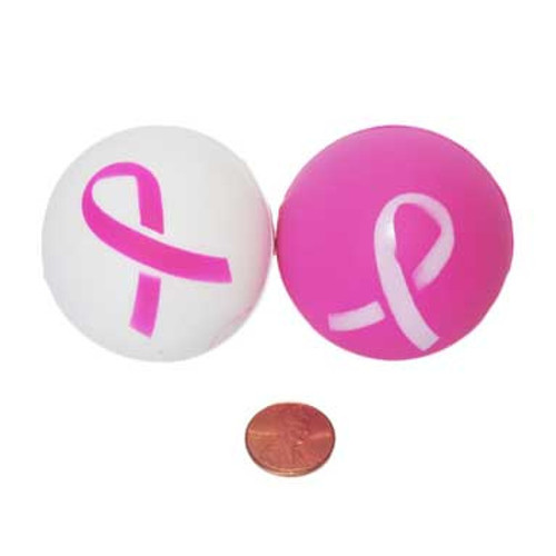 Pink Ribbon Stress Balls (24 total pieces in 2 bags) 75¢ each