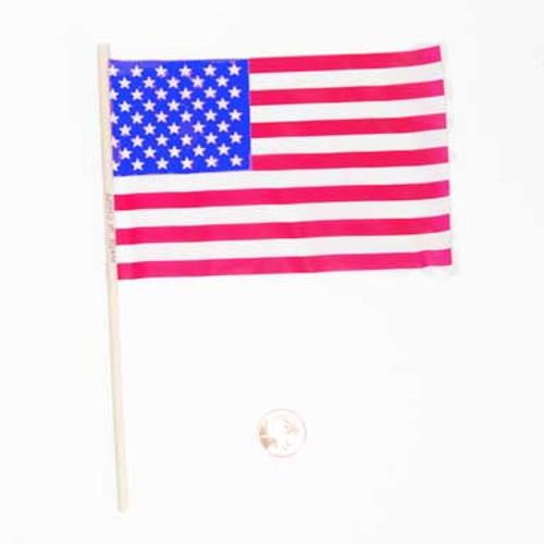 Small Plastic American Flags Bulk