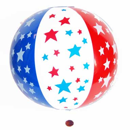 Patriotic Beach Ball (24 total balls in 2 bags) 85¢ each