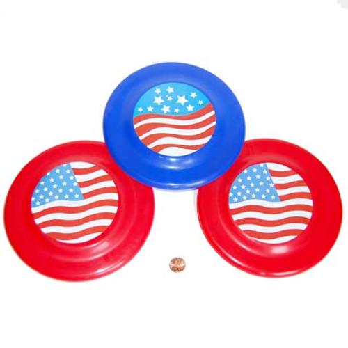 Patriotic Flying Disc (24 total discs in 2 bags) 81¢ each