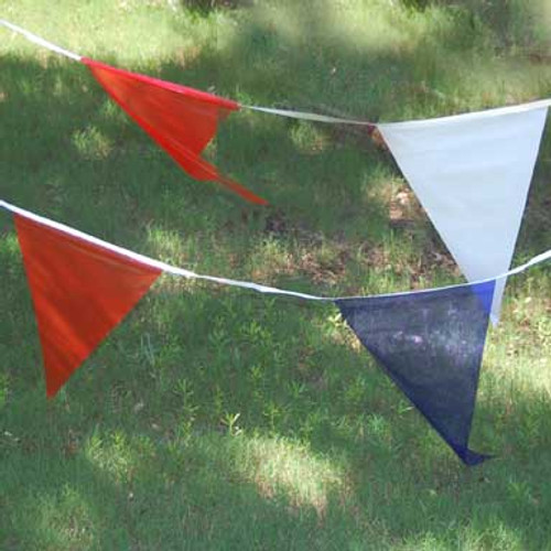 Red White and Blue Pennant (100 feet long)