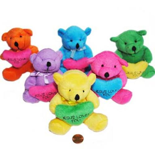 I Love Jesus Stuffed Animal Bears