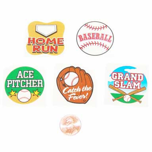 Baseball Temporary Tattoos