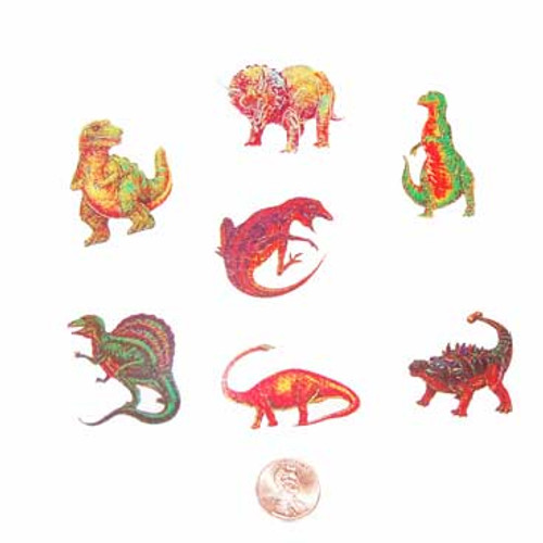 Dinosaur Temporary Tattoos (144 total tattoos in 2 bags) 5¢ each