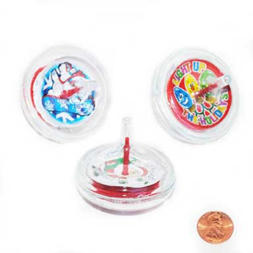 Holiday Spinning Tops