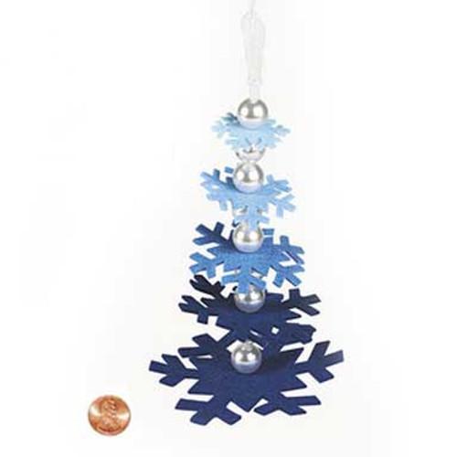 Snowflake Tree Ornament Craft